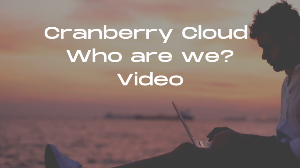 Cranberry Cloud Who are we_ Video